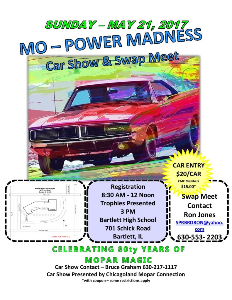Mo Power Madness 2017 flyer