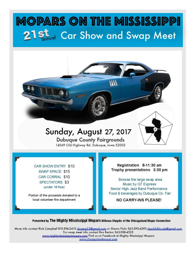 2017 WIL car show flier front-page-001