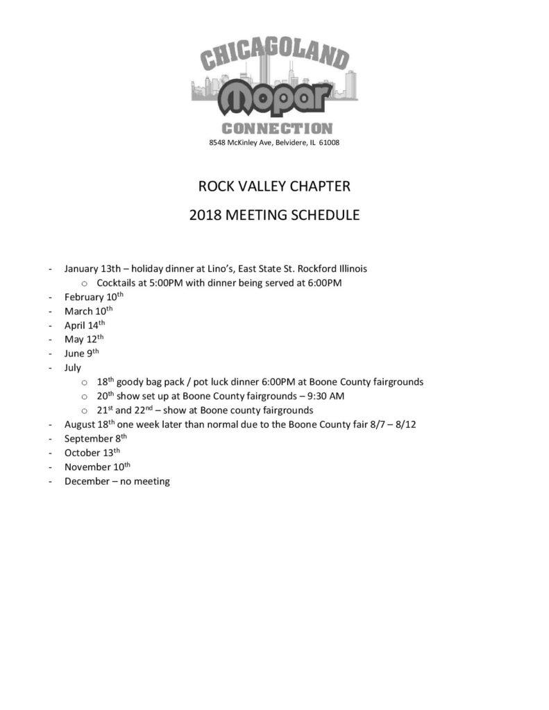 2018 Meeting schedule (003) RVC-page-001